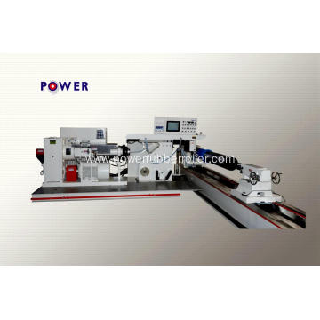 Steel Textile Dyeing Rubber Roller Wrapping Machine